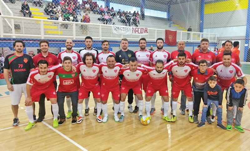 Equipe do Nacional.
