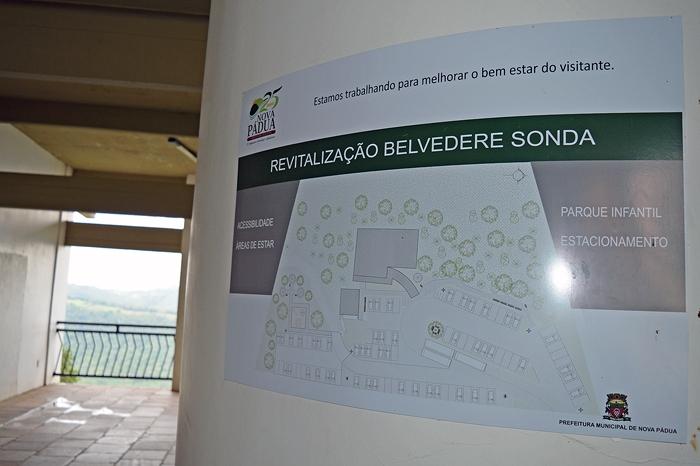 Três banheiros públicos serão construídos no Belvedere Sonda, sendo um deles com acessibilidade para cadeirantes e idosos.