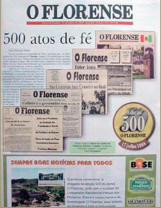 Julho de 1998: edição número 500.