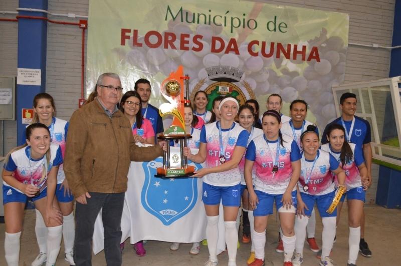 Cruzeiro é campeão do Futsal Feminino.