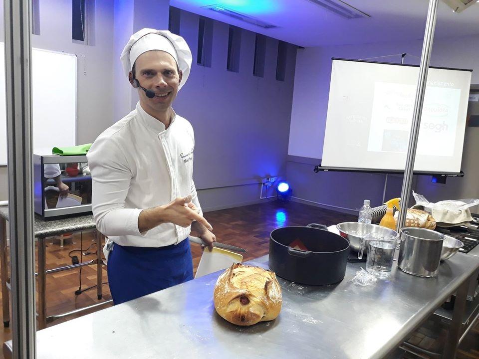 Chef Michel Bortolotto.