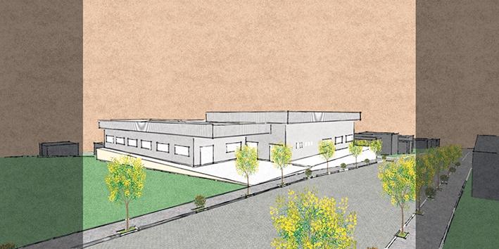 Anteprojeto arquitetônico para nova sede do Esporte Clube Paduense.