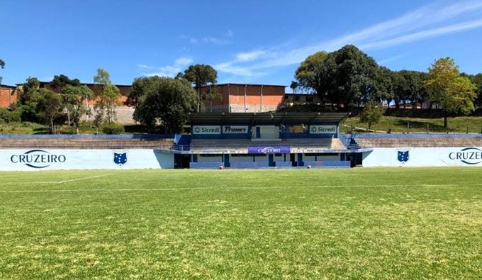 Estádio do Cruzeiro, em São Gotardo.