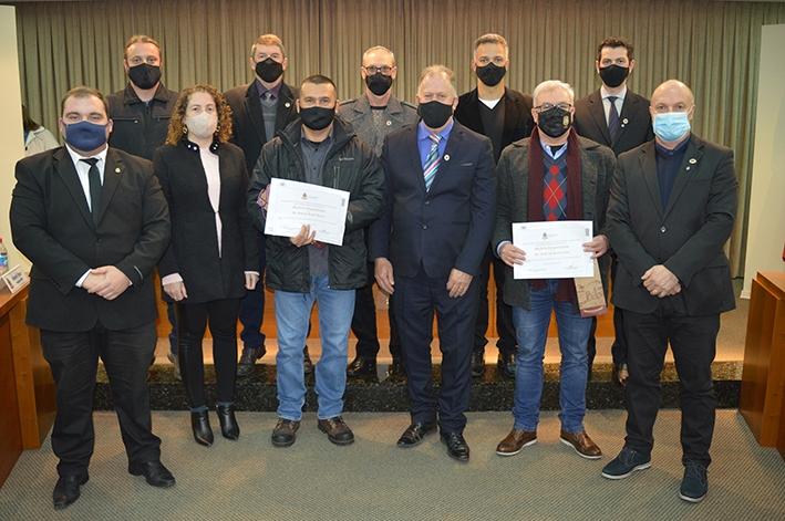 Polícia Civil recebe Moção de Congratulações pela Operação Casarão.