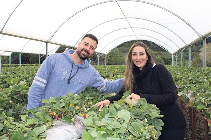 O casal Doraci e Patrícia quer contribuir para o turismo do município.