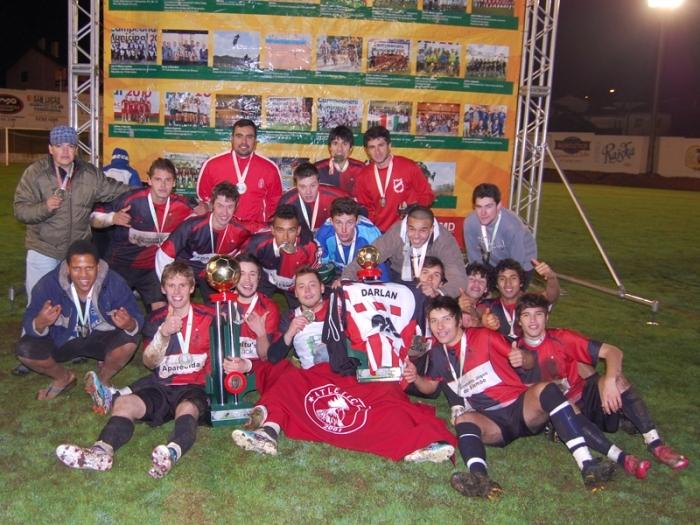 Equipe comemora o segundo título consecutivo e de forma invicta.