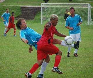 Depois de perder na estreia para os Legendários, Aquarius bateu o Coloradinho por 3 a 0.
