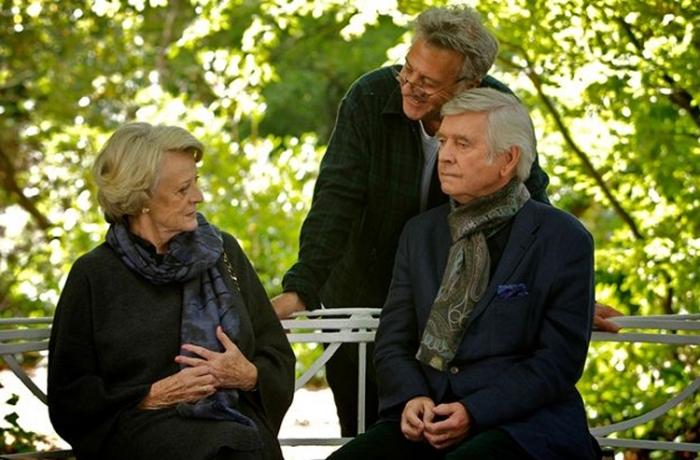 Dustin Hoffman dirige seu primeiro filme com Tom Courtenay.