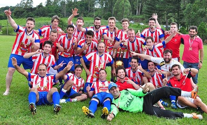 Time do Nova Pádua foi campeão pela primeira vez.