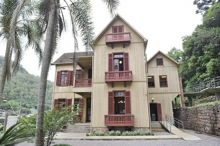Casa do Instituto Hercules Galló.